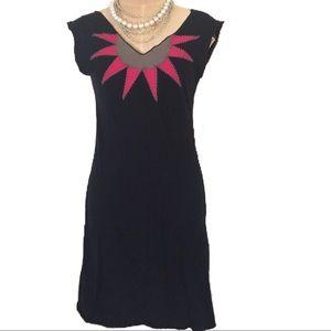 Dresses & Skirts - Handmade embroidered t-shirt sunburst dress yoga